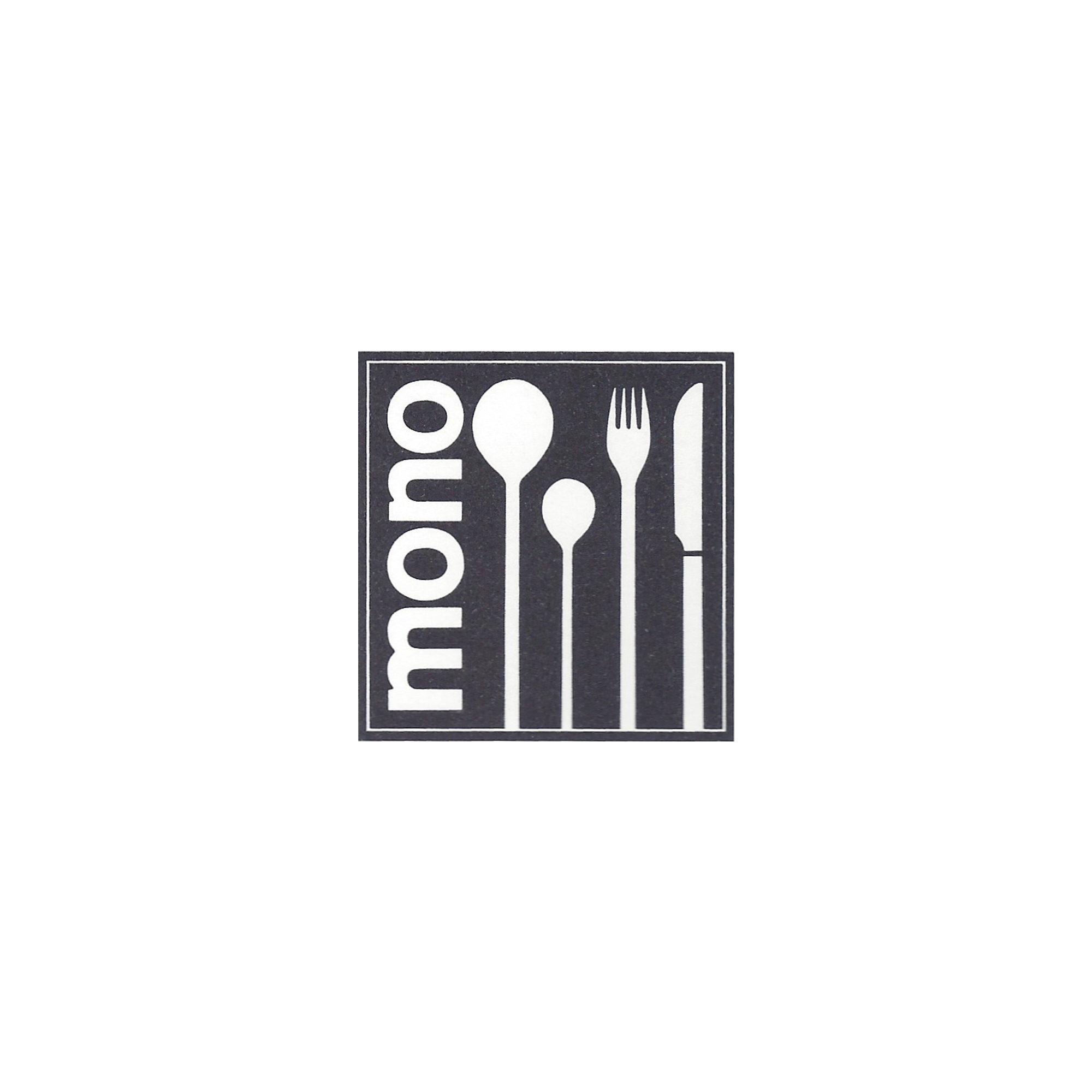 mono a history logo