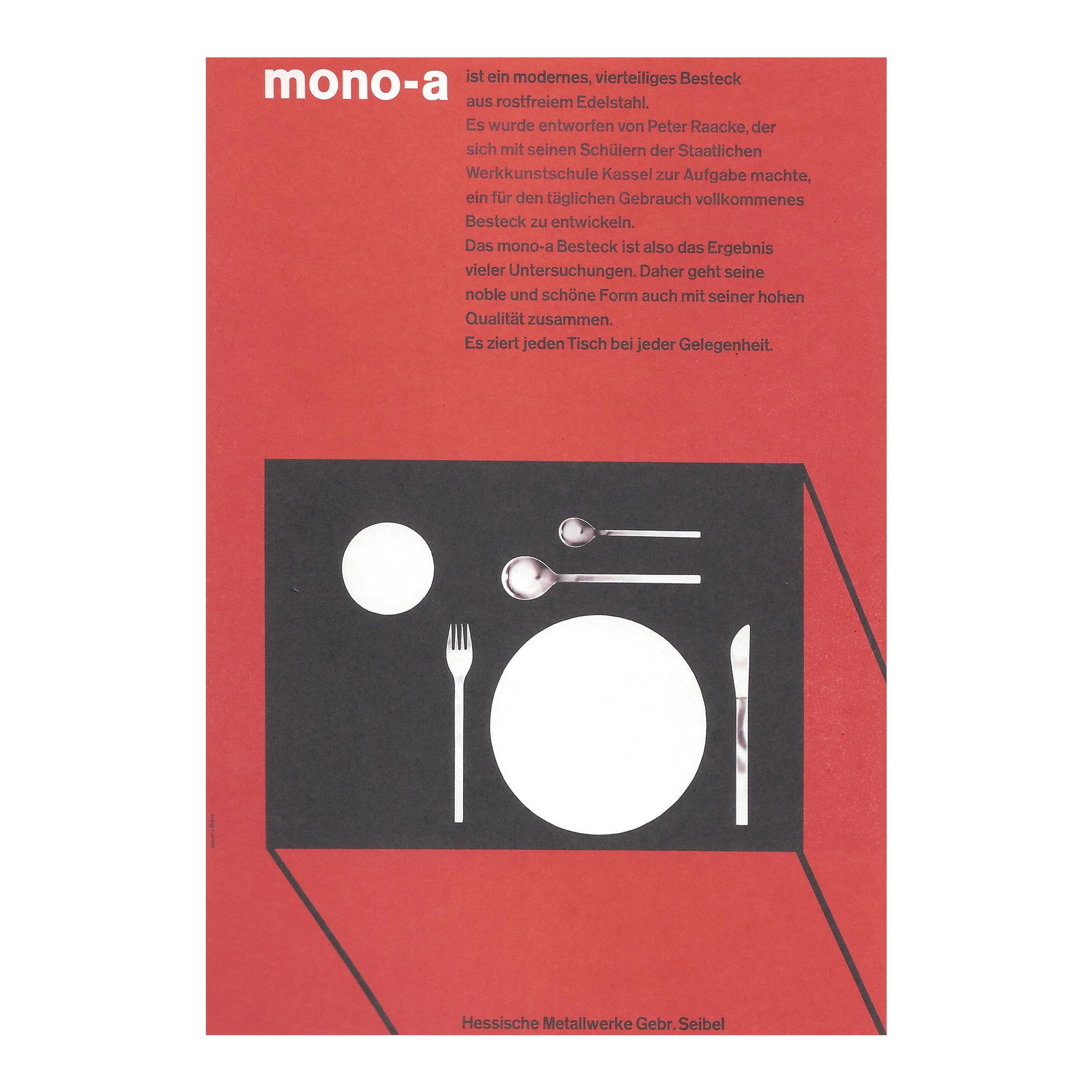 mono a history poster